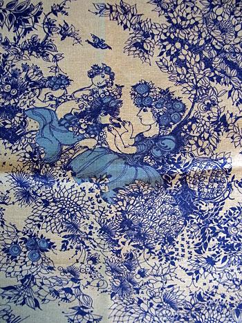 vintage fabric(Bjørn Wiinblad)_c0139773_14431243.jpg