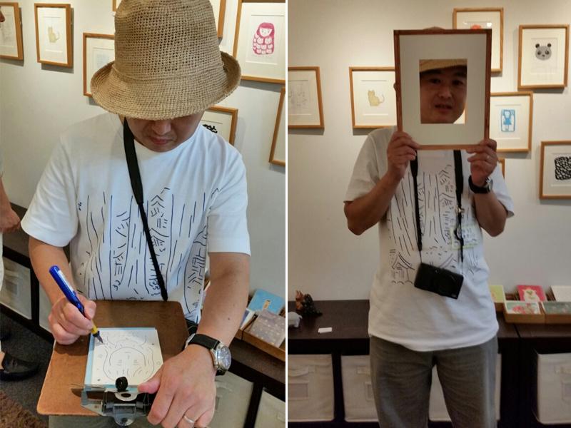 山本祐司さんの個展『週刊一枚』展に行ってきました!_f0357923_1845943.jpg