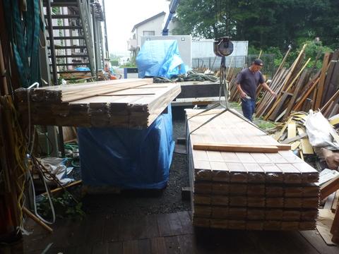 木材搬入_f0066533_19144786.jpg