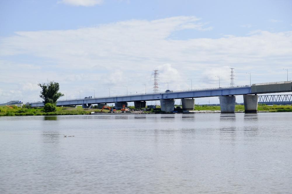 石狩川を往く - 札幌大橋 : C.P....