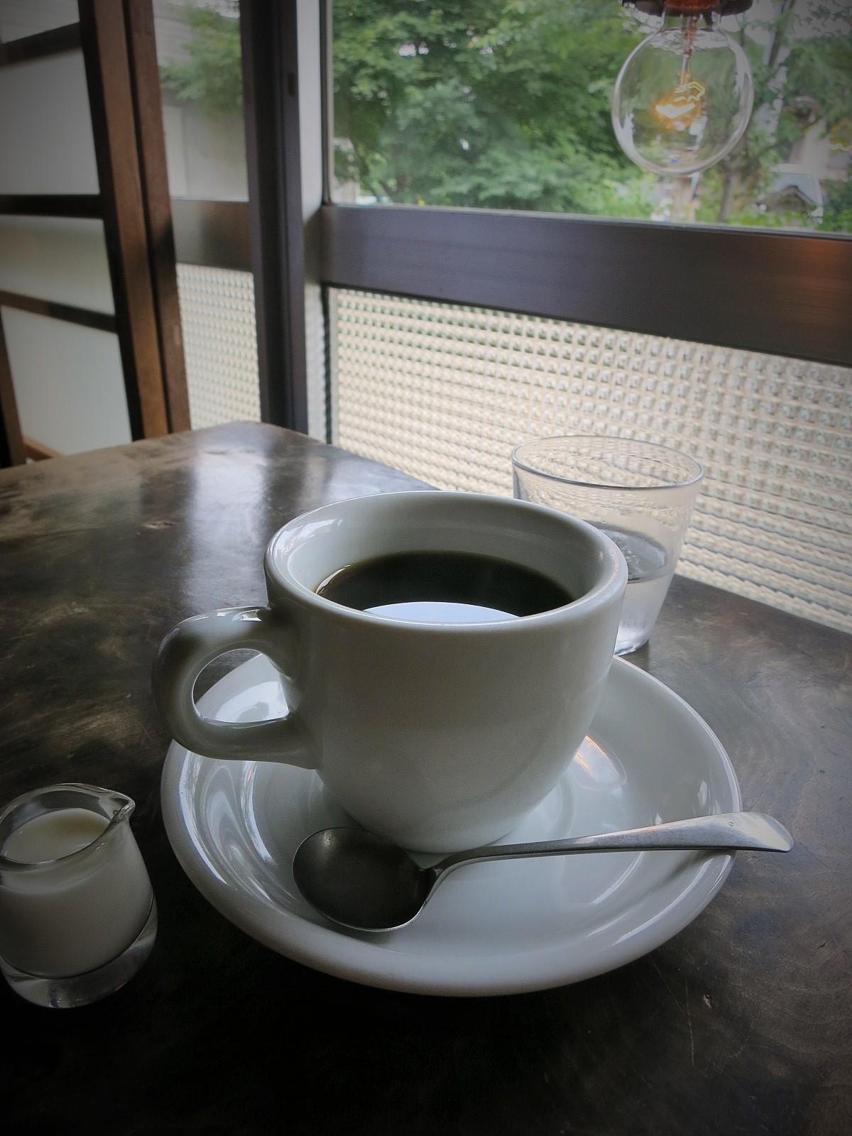 久しぶりの「YUSHI CAFE+天保堂珈琲」 @佐久_f0236260_23411964.jpg
