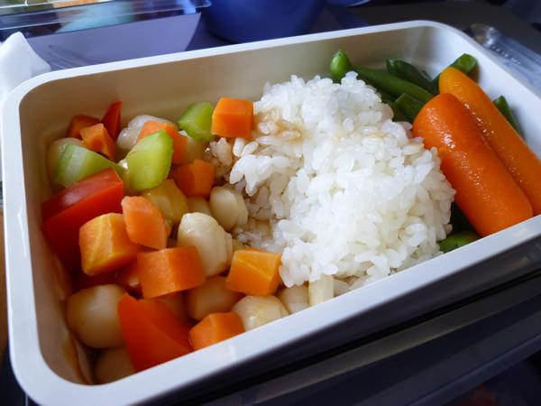 CHINA AIRLINES ホノルル→成田便の機内食2015春_c0152767_21264182.jpg