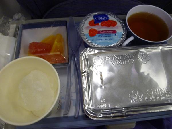 CHINA AIRLINES ホノルル→成田便の機内食2015春_c0152767_2126562.jpg