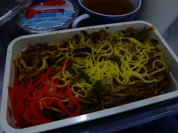 CHINA AIRLINES ホノルル→成田便の機内食2015春_c0152767_21271125.jpg