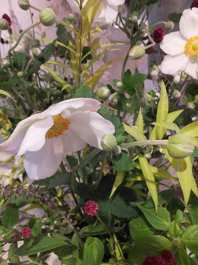オークリーフ花の教室(赤地さんと宮原さんの作品)_f0049672_17532539.jpg