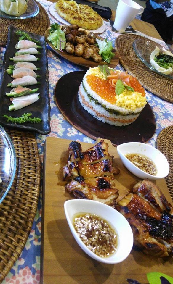 9月の料理教室始まりました♪と、秋のお菓子_e0170128_2023579.jpg
