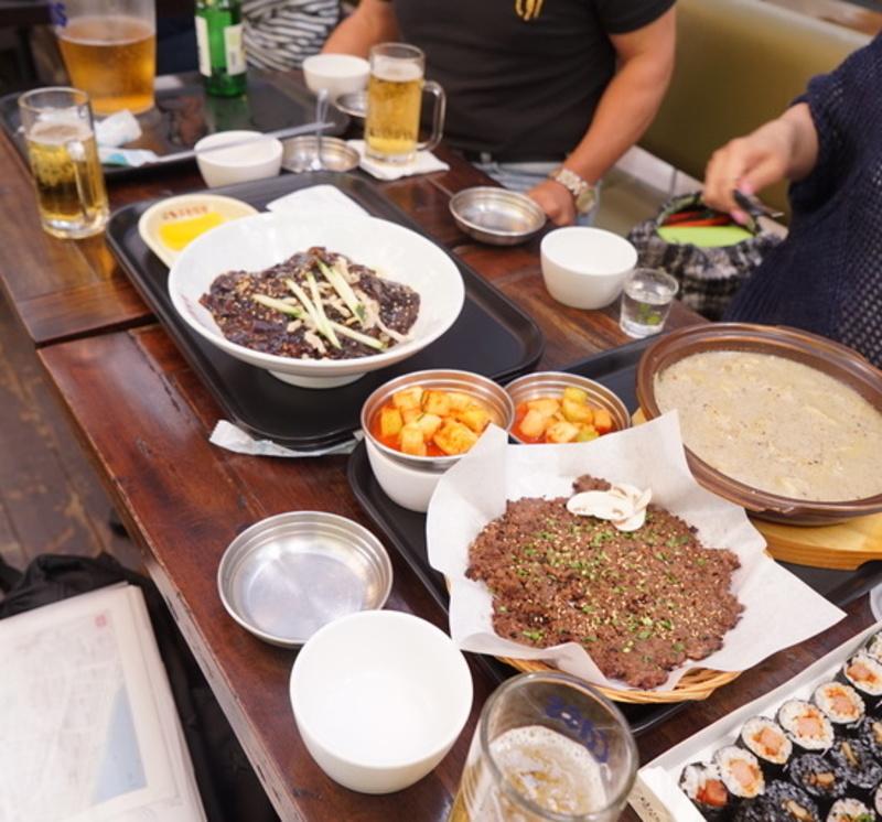 2015年春ソウル旅その1 建大(コンデ)のスターシティモールでランチ_a0223786_1161944.jpg