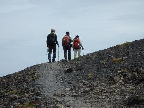 風不死岳楓沢コースから樽前山、9月6日-同行者からの写真・樽前山編-_f0138096_1134227.jpg