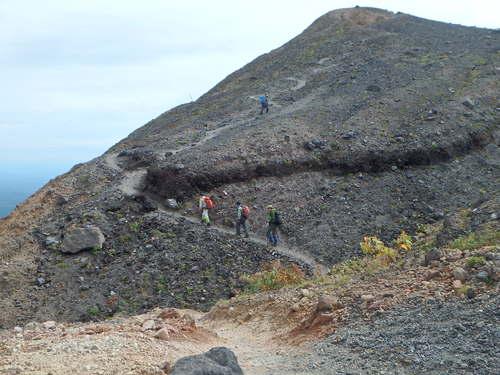 風不死岳楓沢コースから樽前山、9月6日-同行者からの写真・樽前山編-_f0138096_1135716.jpg