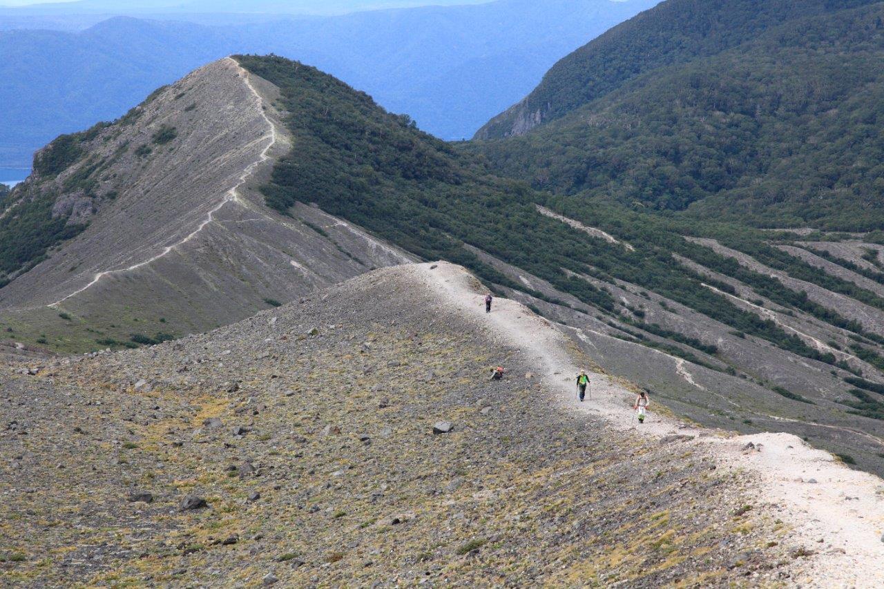 風不死岳楓沢コースから樽前山、9月6日-同行者からの写真・樽前山編-_f0138096_1151066.jpg