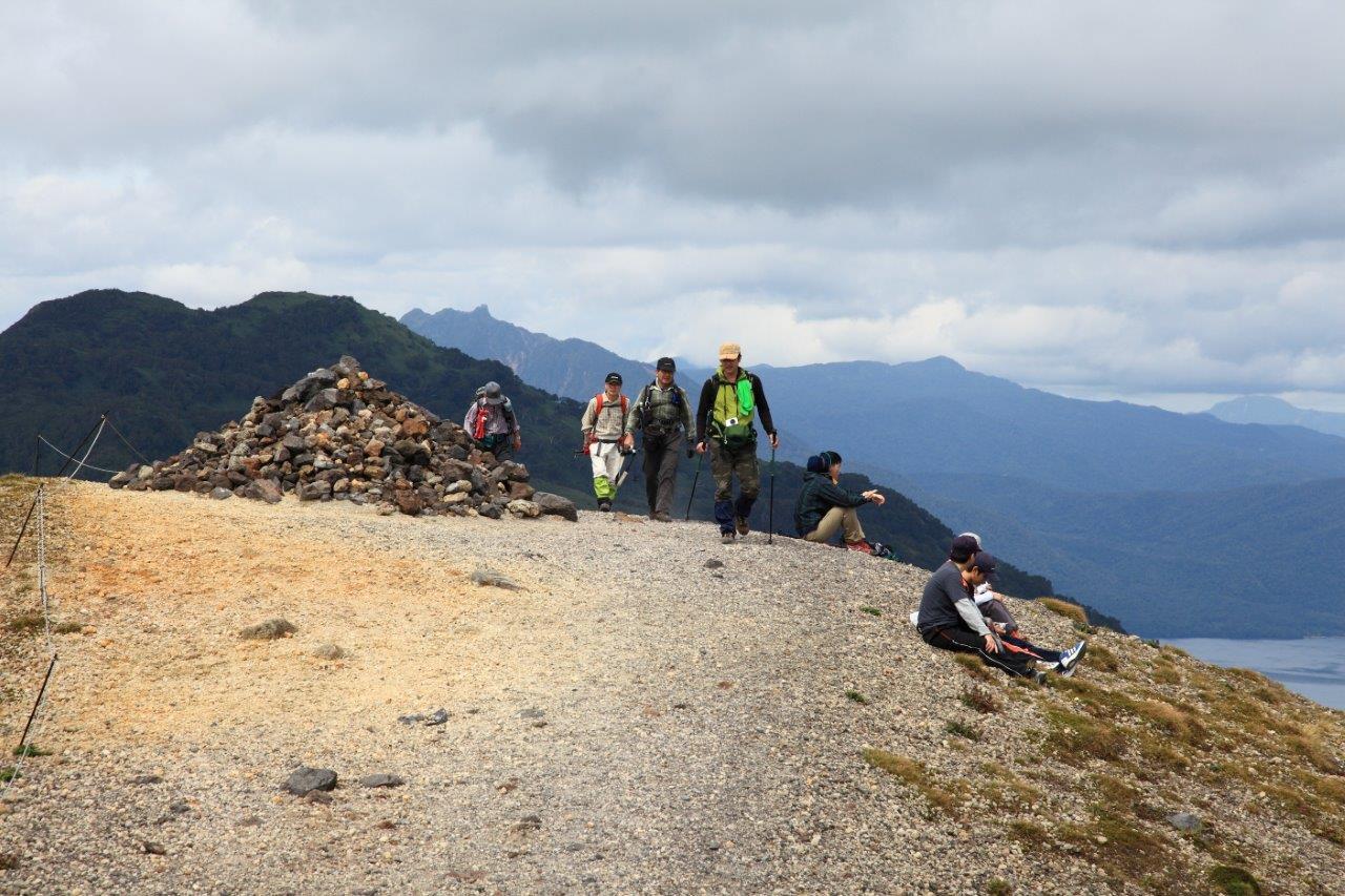 風不死岳楓沢コースから樽前山、9月6日-同行者からの写真・樽前山編-_f0138096_1152255.jpg