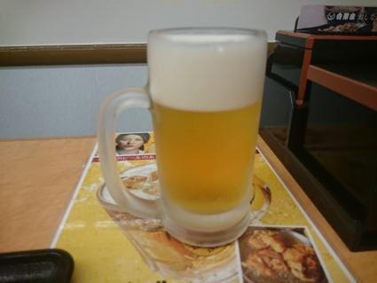 9/8 生ビール¥300+牛丼¥380+味噌汁¥60@吉野家_b0042308_21191658.jpg