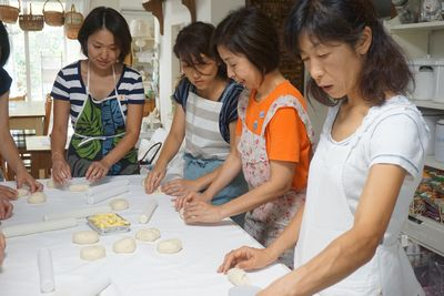 九月のパン教室  久々のアップです。 _f0225639_21201155.jpg