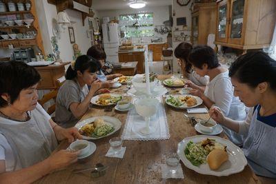 九月のパン教室  久々のアップです。 _f0225639_2158156.jpg