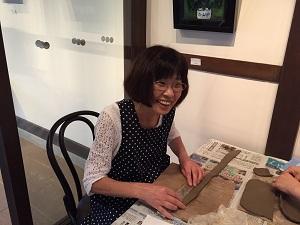 第33回 むくのき倶楽部陶芸教室_f0233340_16124573.jpg