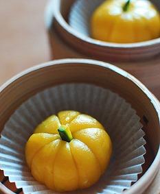 かぼちゃ団子_a0175348_16482549.jpg