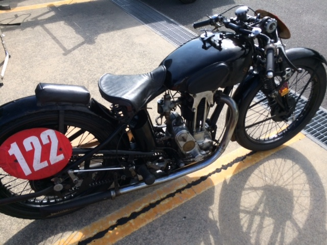 BSA A65 SpitfireMk3 racer  in Dead or Ride Classic_f0326751_07133103.jpg