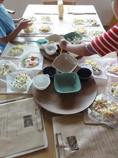 子供パン教室(ピザ)と ダブルレインボー!_f0305982_20530508.jpg