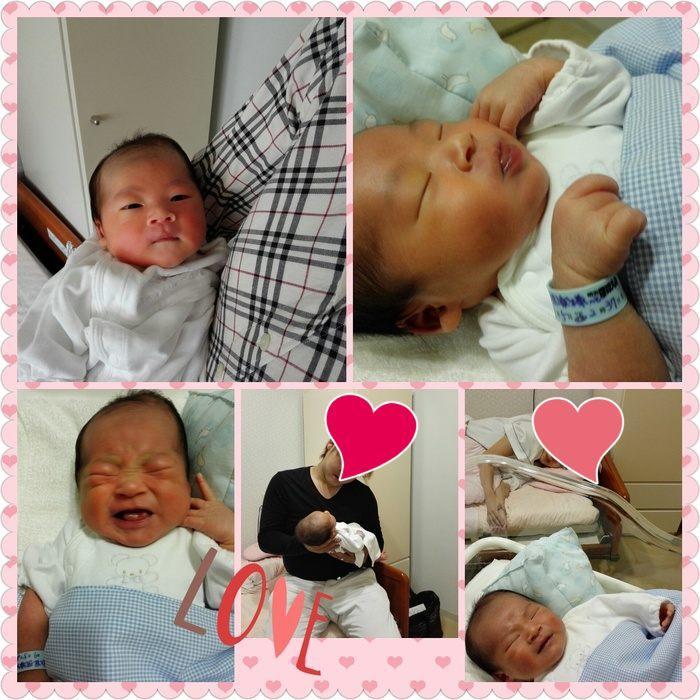 長男ちに第一子誕生しました!_e0014000_01415417.jpg