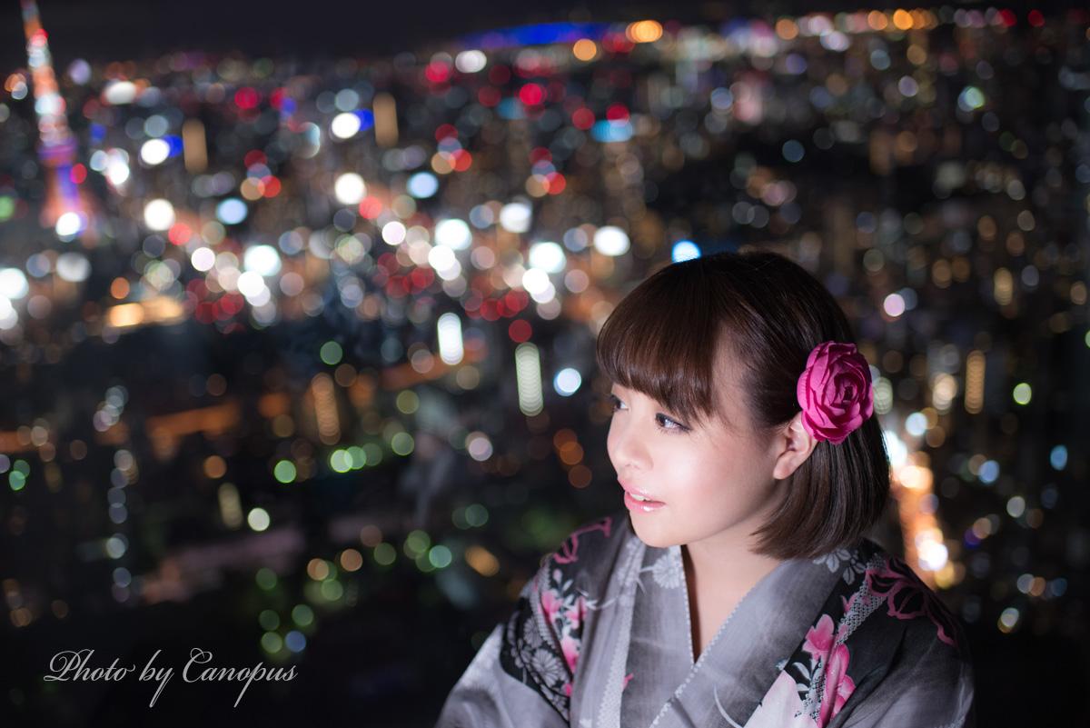 夏祭りの雑踏と、摩天楼の静けさ・・・これ大都会の醍醐味_e0196140_23234756.jpg