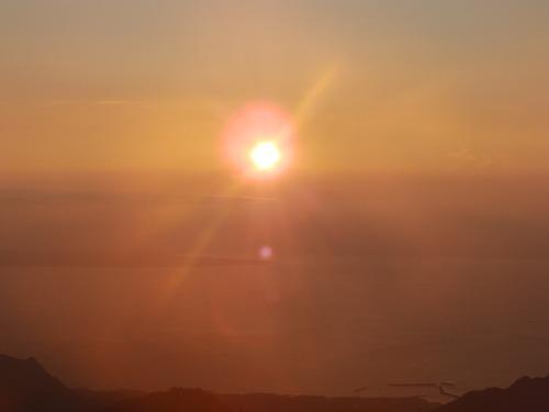 天柱石の夜明け_b0160957_1346095.jpg