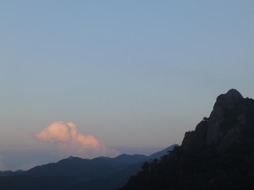 天柱石の夜明け_b0160957_13481624.jpg