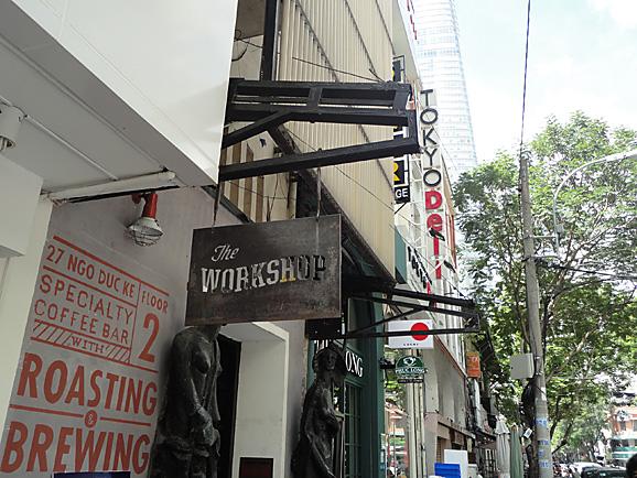 ホーチミン その11 The Workshop Cafeでコーヒー&ケーキ_e0230011_1744735.jpg