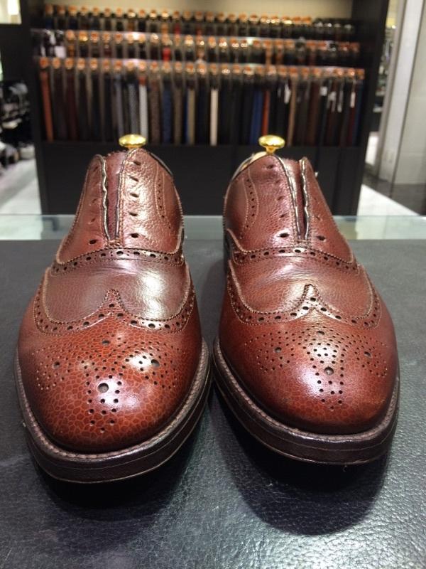 シボ革の靴のお手入れには_b0226322_11241163.jpg