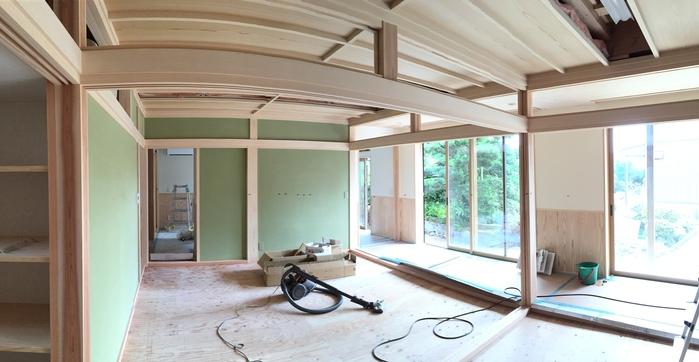 和室の壁は緑_e0189939_8292036.jpg