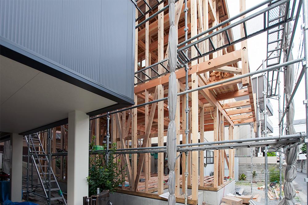 狭小地に建てるゆったり空間の家─その2─_a0163962_12161793.jpg