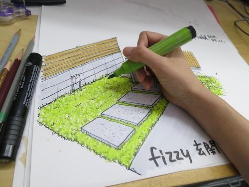 「fizzy」のお庭_f0324766_12124720.jpg