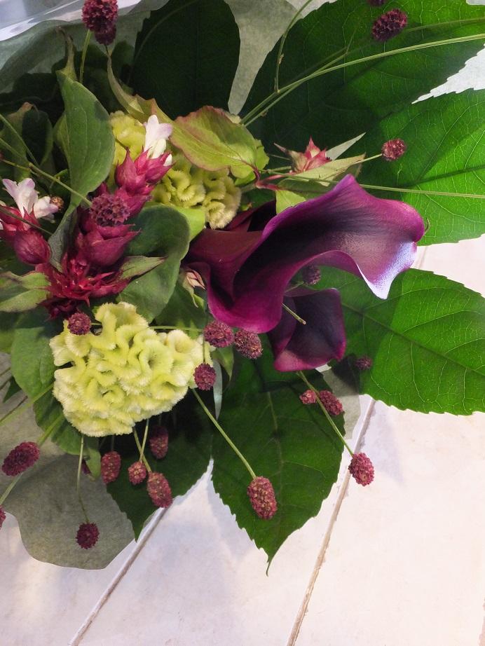 オークリーフ花の教室(森さんの作品)_f0049672_17525461.jpg