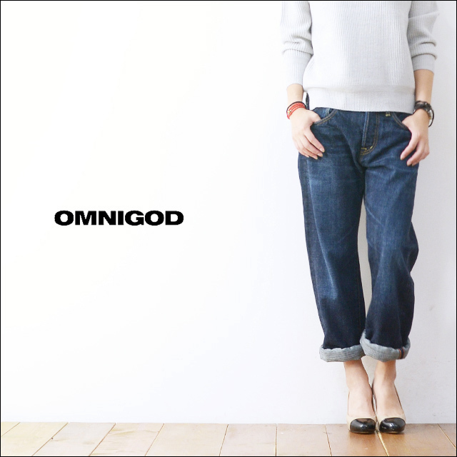 OMNIGOD[オムニゴッド] 5P LOOSE STRAIGHT JEANS [50-565A] LADY\'S_f0051306_19351502.jpg