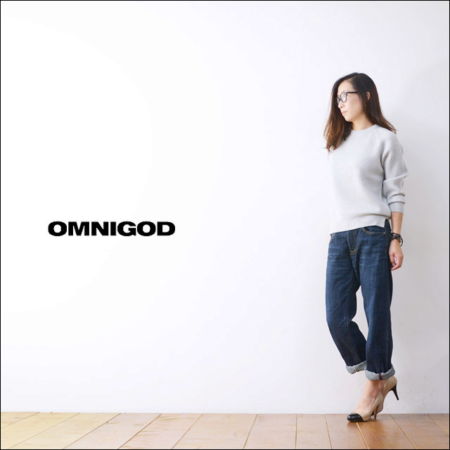 OMNIGOD[オムニゴッド] 5P LOOSE STRAIGHT JEANS [50-565A] LADY\'S_f0051306_19351523.jpg