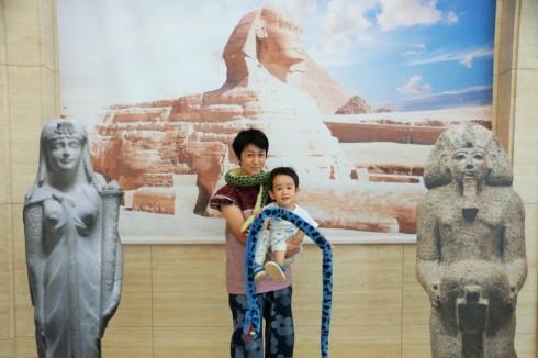 「クレオパトラとエジプトの王妃展」@東京国立博物館_f0006713_21455669.jpg