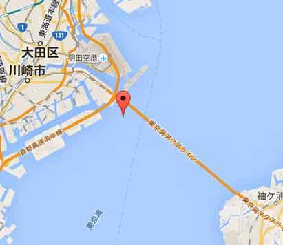 震源地と観測地はアクアラインと平行なのだ!/ 今朝の東京湾地震_b0003330_1732457.jpg