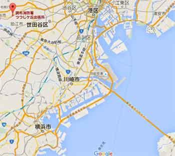 震源地と観測地はアクアラインと平行なのだ!/ 今朝の東京湾地震_b0003330_179174.jpg