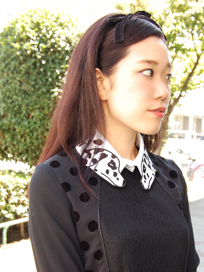 VIVETTAダルメシアン付け襟♡by natsumi_f0053343_2028519.jpg