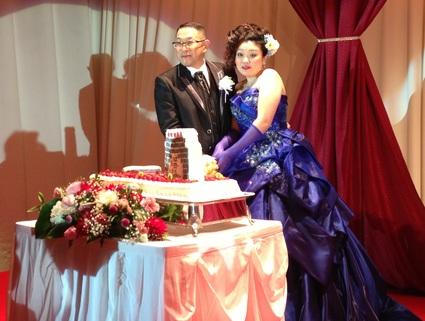 『 先輩の結婚式 』_f0259324_2055506.jpg