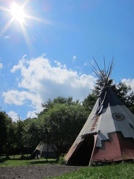 キャンプ日和と秋の空_b0174425_14303305.jpg