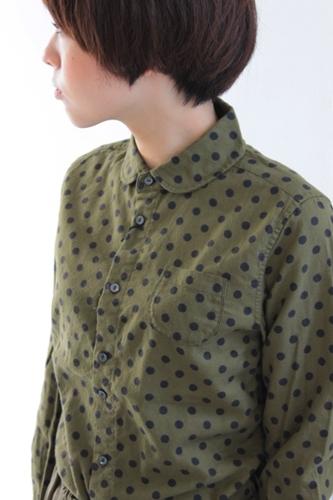 水玉のシャツ。_e0247148_18475544.jpg