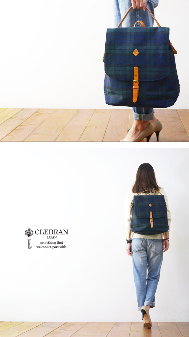 CLEDRAN [クレドラン] INNO 2WAY RUCKSACK [CL2208]  LADY\'S_f0051306_14530006.jpg