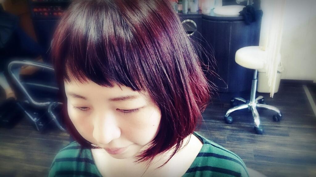 グラデーションカラー☆赤系♡_f0158908_11455782.jpg