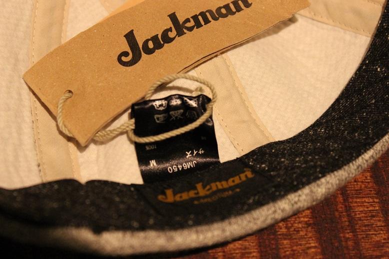 "Jackman \""GG SWEAT CREWNECK & BASEBALL CAP\"" ご紹介_f0191324_9241893.jpg"