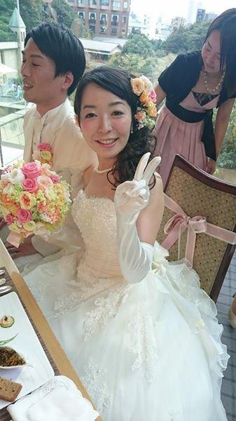 新郎新婦様からのメール プリザーブドブーケ椿山荘さまへ 結婚式は人 10月4日単発レッスンのご案内_a0042928_18371834.jpg