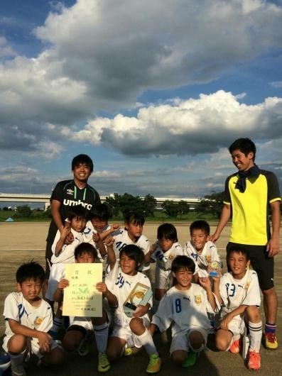 9月13日(日)  U9 川西スポーツ少年団3年生大会_f0138335_18543911.jpg