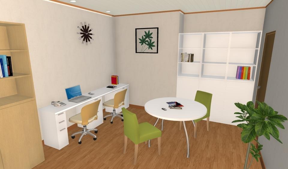 ホームオフィスのあるマンション