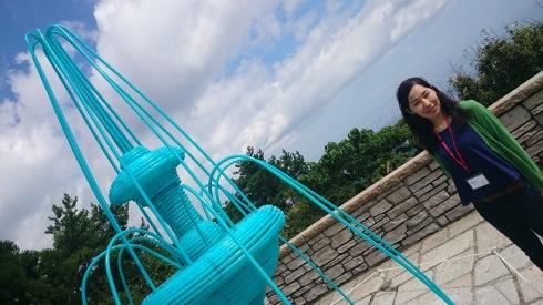 六甲ミーツ・アート 芸術散歩2015 プレスレビューにcafeZもご招待をいただきました!_a0017350_22072824.jpg
