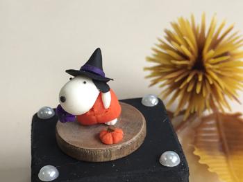 ミニポチ34 ハロウィンかぼちゃポチ_f0195352_911987.jpg