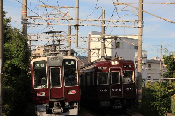 阪急箕面線 5134F 8040F_d0202264_1937449.jpg